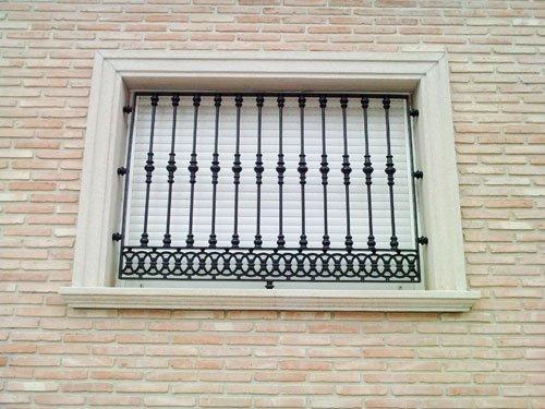 rejas ventanas1 - Instalacion rejas ballestas viladecans rejas para ventanas viladecans rejas puertas