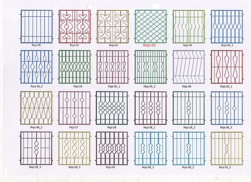 Rejas para ventanas barcelona instalacion rejas barcelona rejas ballestas barcelona Rejas de diseno