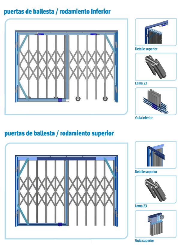 rejas ballestas rodamiento - Rejas para ventanas barcelona Instalacion rejas barcelona Rejas ballestas barcelona
