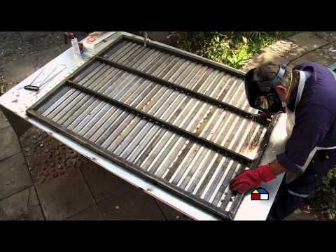 fabricacion rejas 2020 - ¿Cómo hacer una rejas de hierro para ventanas y puertas?