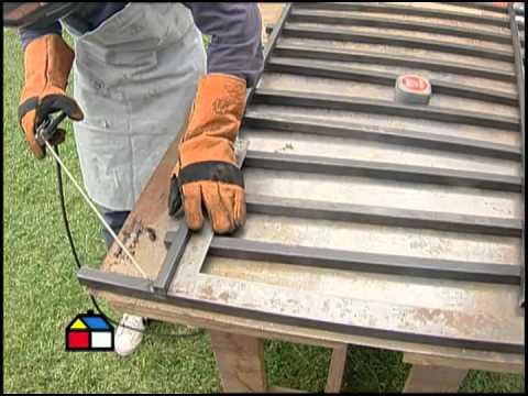 fabricar rejas 2020 - ¿Cómo hacer una rejas de hierro para ventanas y puertas?